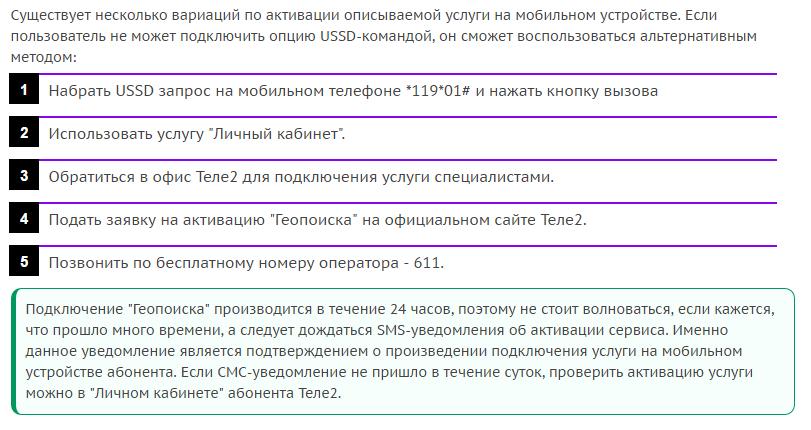 Услуга «Геопоиск»от Теле2: найти человека легко!